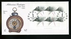 1999-2000-Millennium-Timekeeper-M-S-FOURPENNY-POST-Cover-Double-Greenwich-H-S