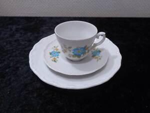 Schumann-Bavaria-Design-Porcelain-Collector-039-s-Place-Setting-Vintage-around