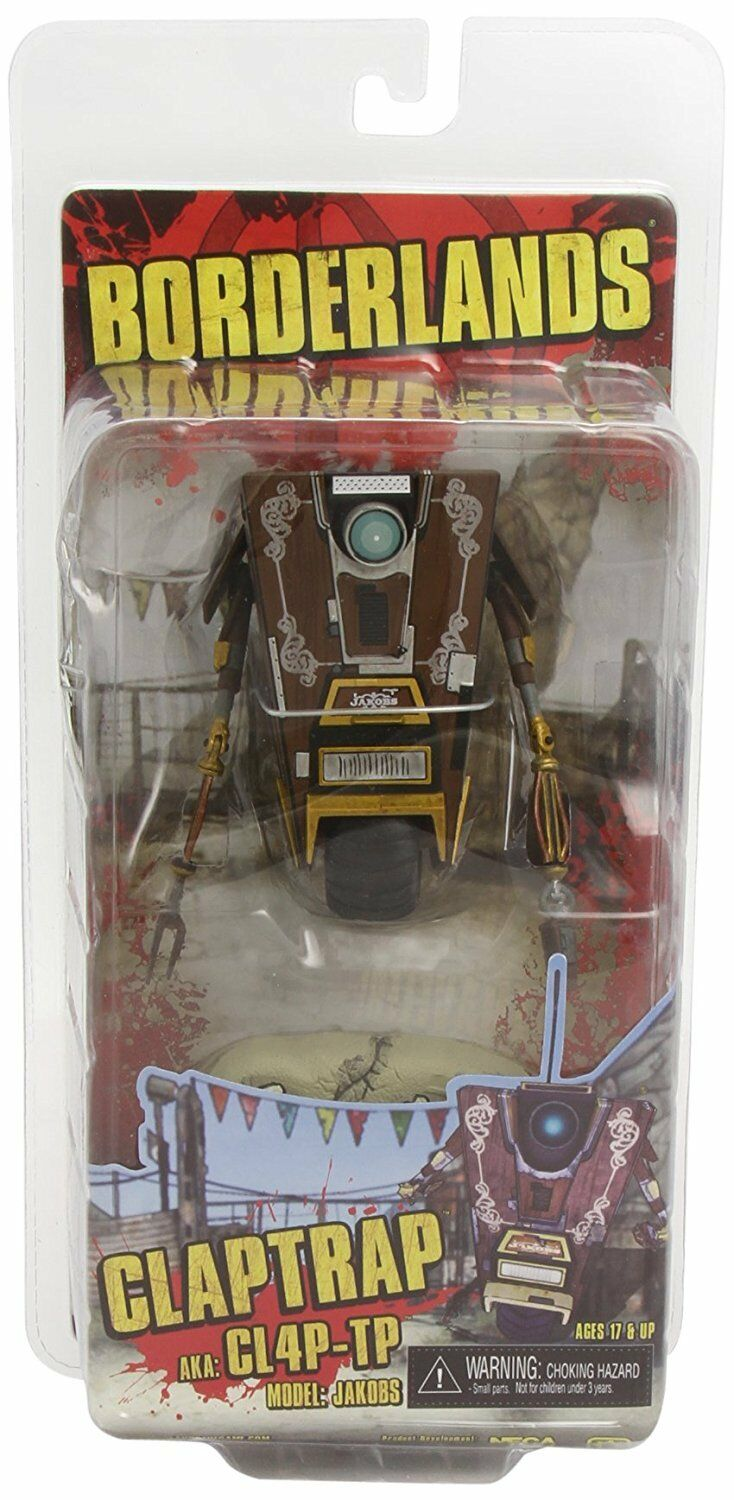 CLAPTRAP CL4P-TP Roboter Model Jakobs Borderlands Action Figur NECA