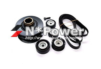 25% UNDERDRIVE BALANCER PULLEY KIT FOR HOLDEN COMMODORE VT VX VY VZ 5.7 LS1 LS2