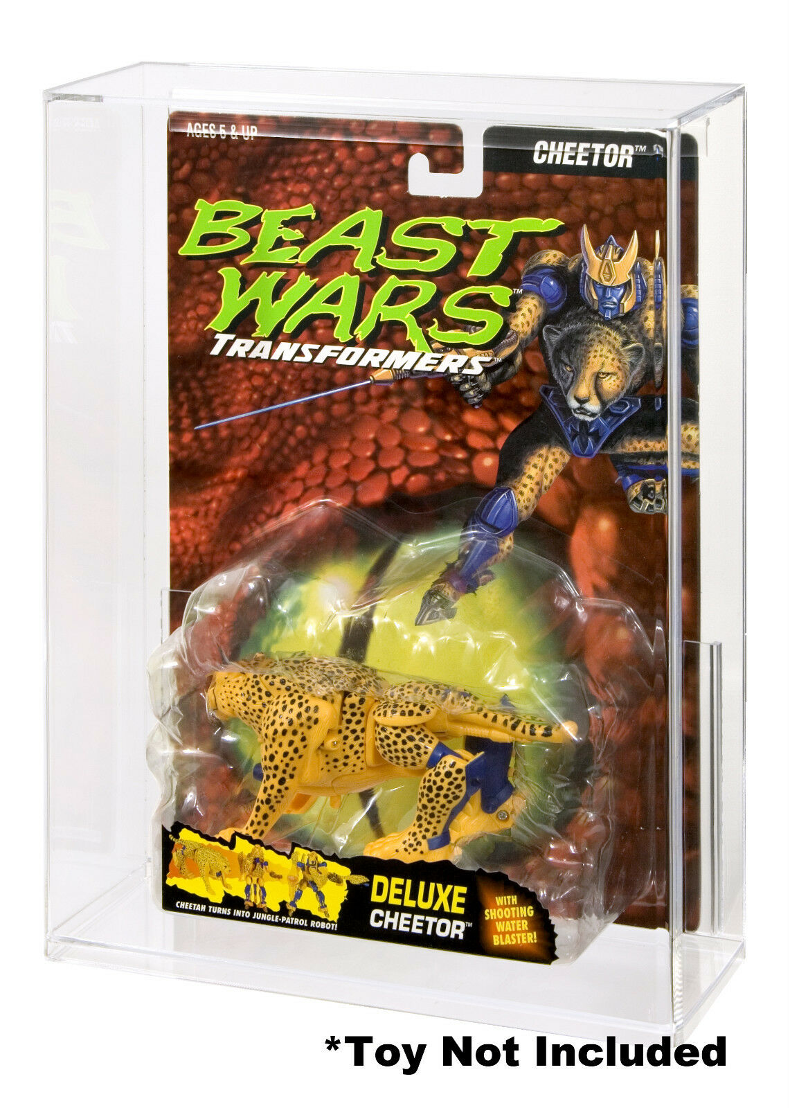 Transformers Beast Wars Deluxe Acrylic Display Case