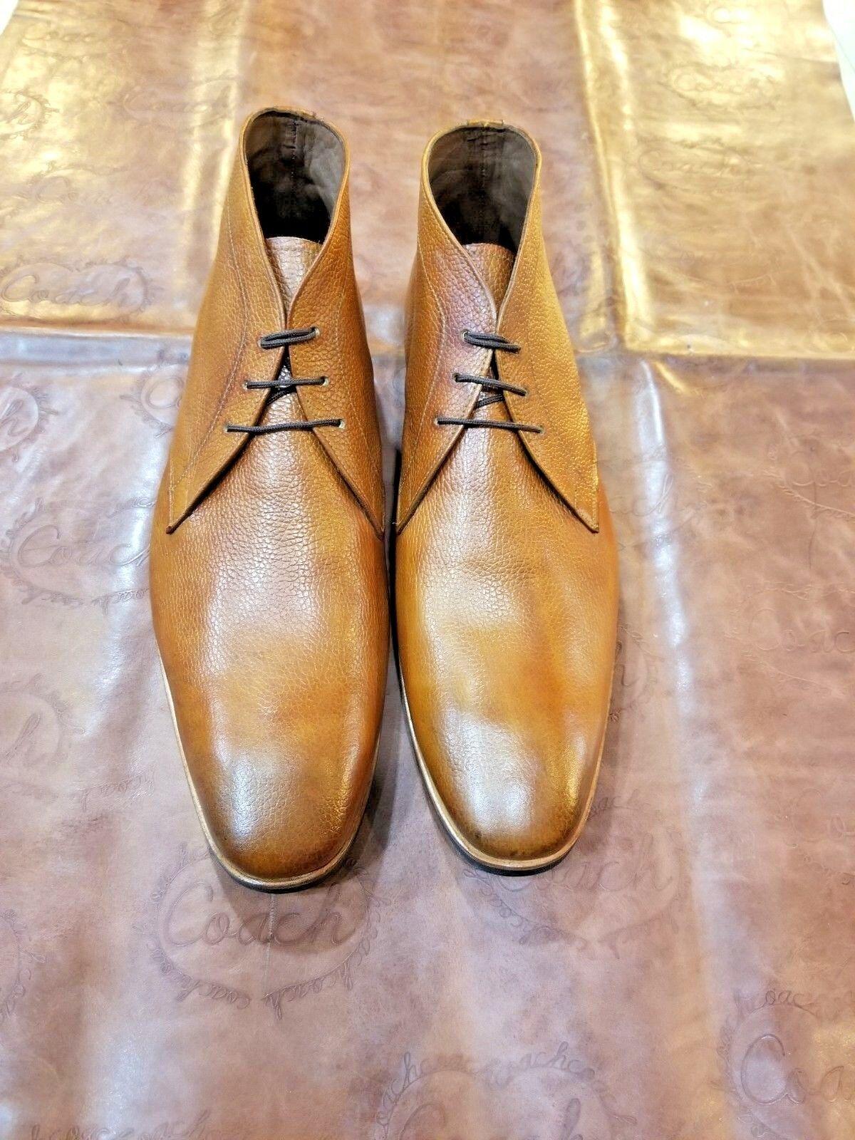 Hecho A Mano Para Hombre Tobillo Cordones Up formal botas Desierto De Vestir Jodhpur