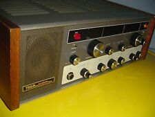 TRAM D201 AM/SSB TUBE RADIO / ORIGINAL MIC / BOOK / 40 PLUS CHANNELS  ON VFO /