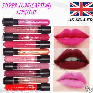 Brillant à Lèvres Gloss Peinture De Lèvre Rouge à Mate Imperméable - Peinture mat ou brillant