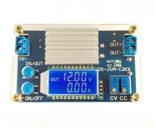 12A Step-down Module Constant Voltage Constant Current LCD Display Adjustable St
