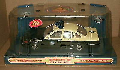 Code 3 Police Car Florida Highway Patrol Ford Crown Victoria 1/24th Scale  #12432 for sale online | eBay