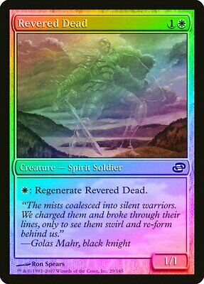 Revered Dead FOIL Planar Chaos NM White Common MAGIC GATHERING CARD ABUGames