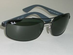 0c0980656c RAY BAN RB3527 006 71 61  17 135 3N GRAYISH BLACK SPORT WRAP ...