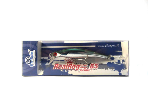 COLOR NEW BY BLUSPIN JERK BAIT REAL ROGOS 85 12g 85mm SINKING 85RR121
