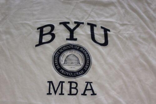 BYU NBA College American TEE T SHIRT Large L