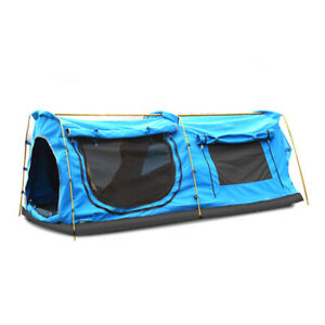 Mountviewe Dome King Camping Swag Swags Mattress Canvas Tent Kings Hiking Daddy