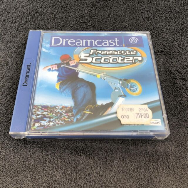 SEGA Dreamcast Freestyle Scooter EUR CD état neuf