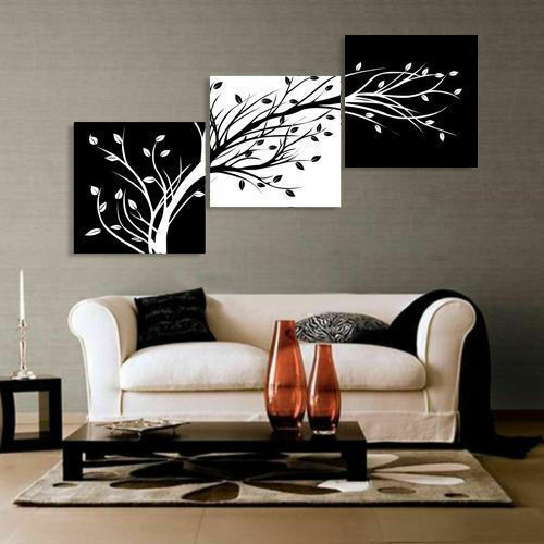 LMOP971 3pcs floral flowers hand painted oil painting on canvas wall  art