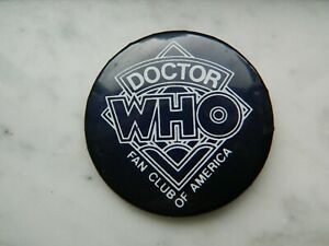Doctor-Who-Fan-Club-Of-America-Pin-2-034-Pinback-Button-Color-Mood-Changing