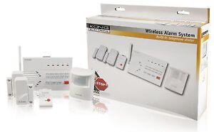SYSTEME-ALARME-SANS-FIL-Tel-RTC-telecommande-jusqu-039-a-10-capteurs-5-zones