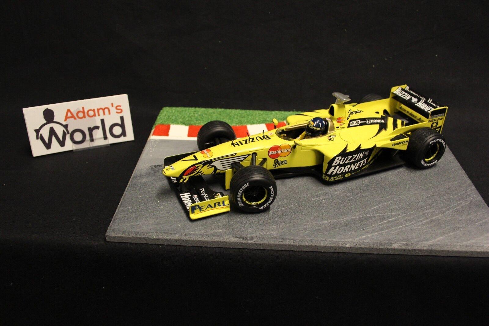 Hot Wheels Jordan Mugen Honda 199 1999 1 18 Damon Hill (GBR) (F1NB)