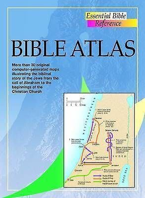 Bible Atlas (Essential Bible Reference), Dowley, Tim, Very Good Book
