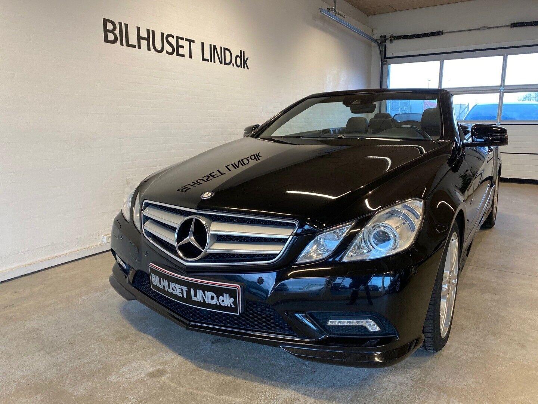 Mercedes E200 1,8 CGi Avantgarde Cab. aut. BE 2d