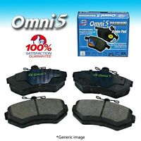 Bs0678 : Omni 5 Semi Metalic Brake Pad Pdm1590 Front Iso Certified