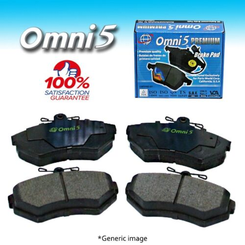 BS Omni 5 Semi Metalic Brake Pad PDM215 Front ISO Certified !!