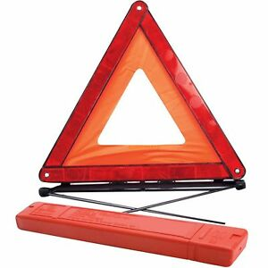 Image Is Loading Car Breakdown Emergency Warning Reflective Red Triangle With