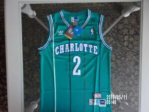 quality design c052d 6976a Details about LARRY JOHNSON CHARLOTTE THROWBACK JERSEY