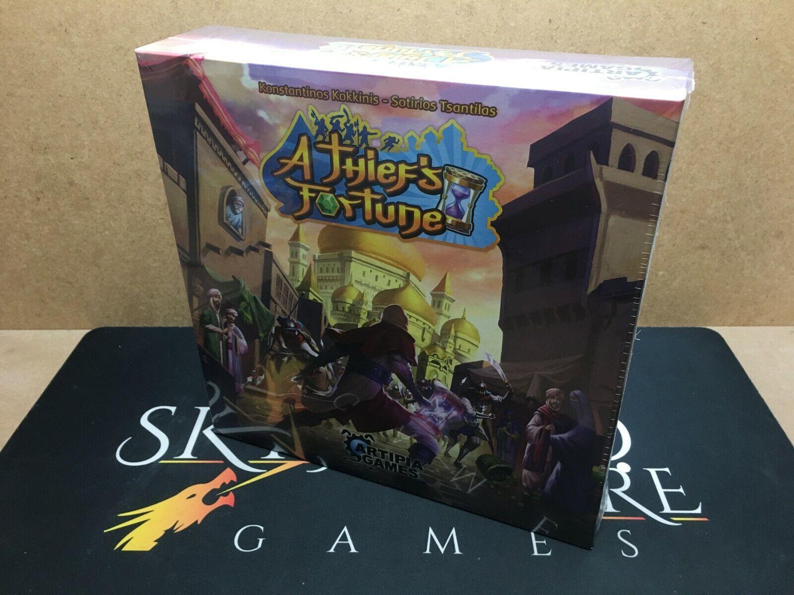 A Thief's Fortune Board Game - Artipia Games (Genuine Sealed English)