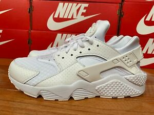Details about Nike Air Huarache [318429-111] Triple White Pure White Mens  Size 7.5 - 12 NEW