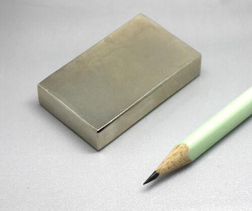 versch.Sorten bis zu 100 kg Zugkraft Neodym-Supermagnete große Quader