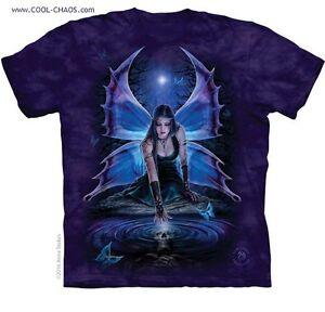 Moon tintura Riserva Farfalle shirt Midnight Bizzarra Fata Da T A dX1nq4Rw