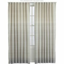 Crate and Barrel Alston Ivory/gold 50x96 Curtain Panel | eBay
