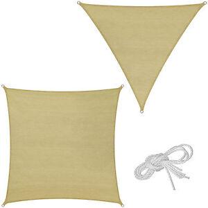 sonnensegel mit uv schutz sonnenschutz sonnendach windschutz ebay. Black Bedroom Furniture Sets. Home Design Ideas