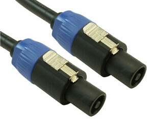 2 Conductor 12AWG TM Speaker Wire MyCableMart 10ft Speakon//NL4 Stranded Copper