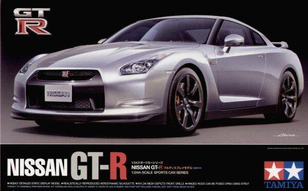 Tamiya 1 24 Nissan GT-R