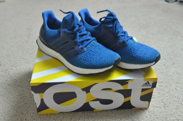 detailed look bd48f 8c856 Adidas Ultra Boost 3.0 Royal Blue BA8844 USED SIZE 8.5 US MEN