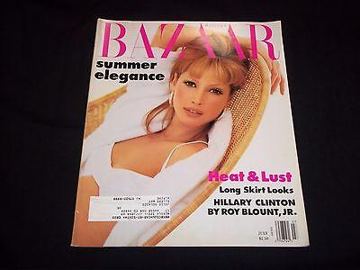 1992 JULY HARPER'S BAZAAR MAGAZINE - CHRISTY TURLINGTON - FASHION - GG 1609