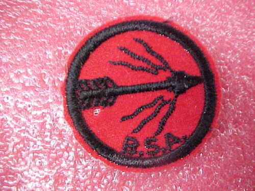 #2 Vintage arrow BSA Boy Scouts of America Red patch badge good condition