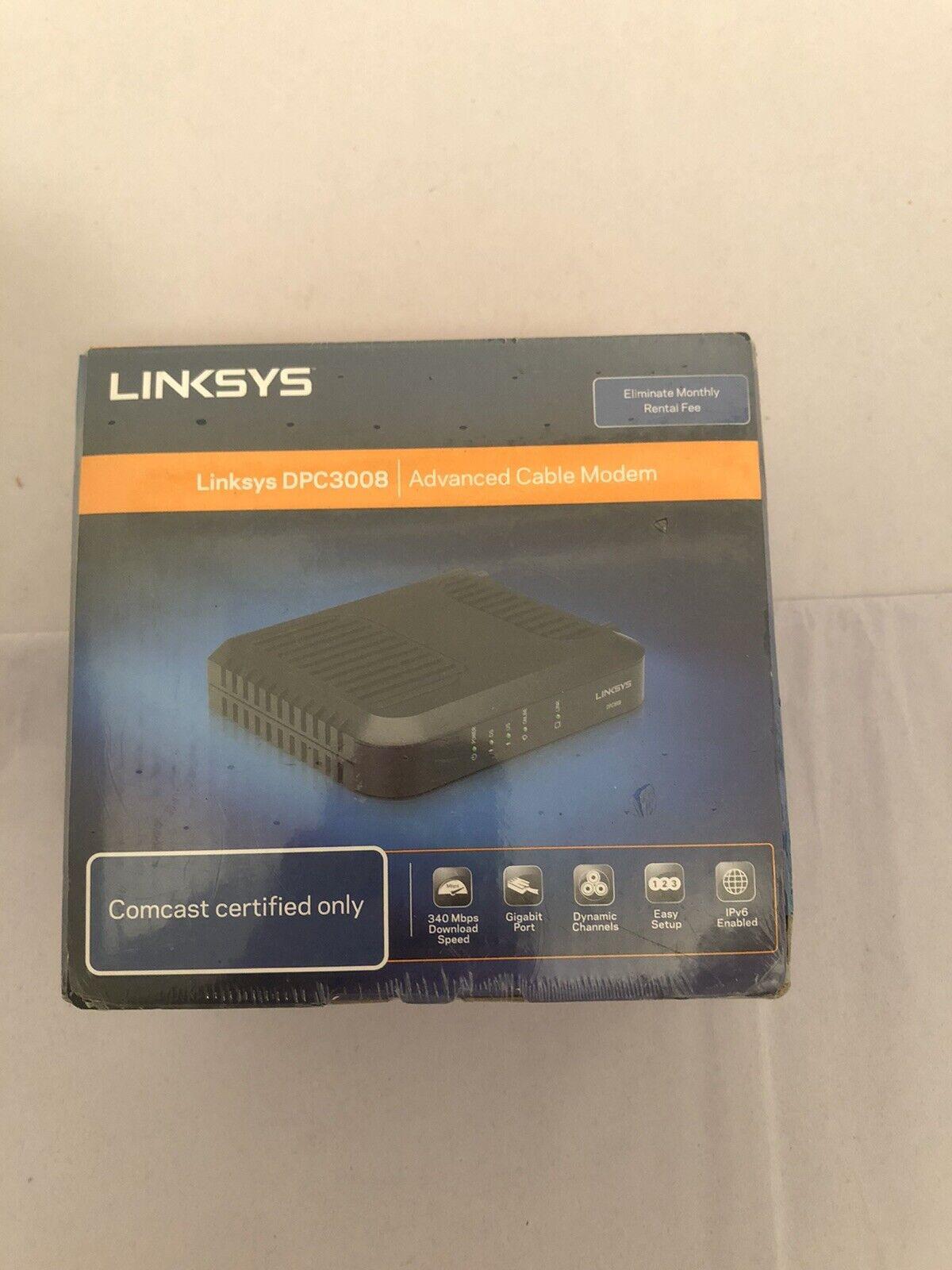 Linksys Docsis Dpc3008 Cc 348 16 Mbps For Sale Online Ebay