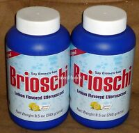 Brioschi (original) Lemon Flavored Effervescent, 8.5 Oz, Made In Italy (2 Pack)