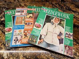 4-Vintage-1970-039-s-Magazine-McCall-039-s-Needlework-amp-Crafts-Barbie-Patterns-amp-Ideas