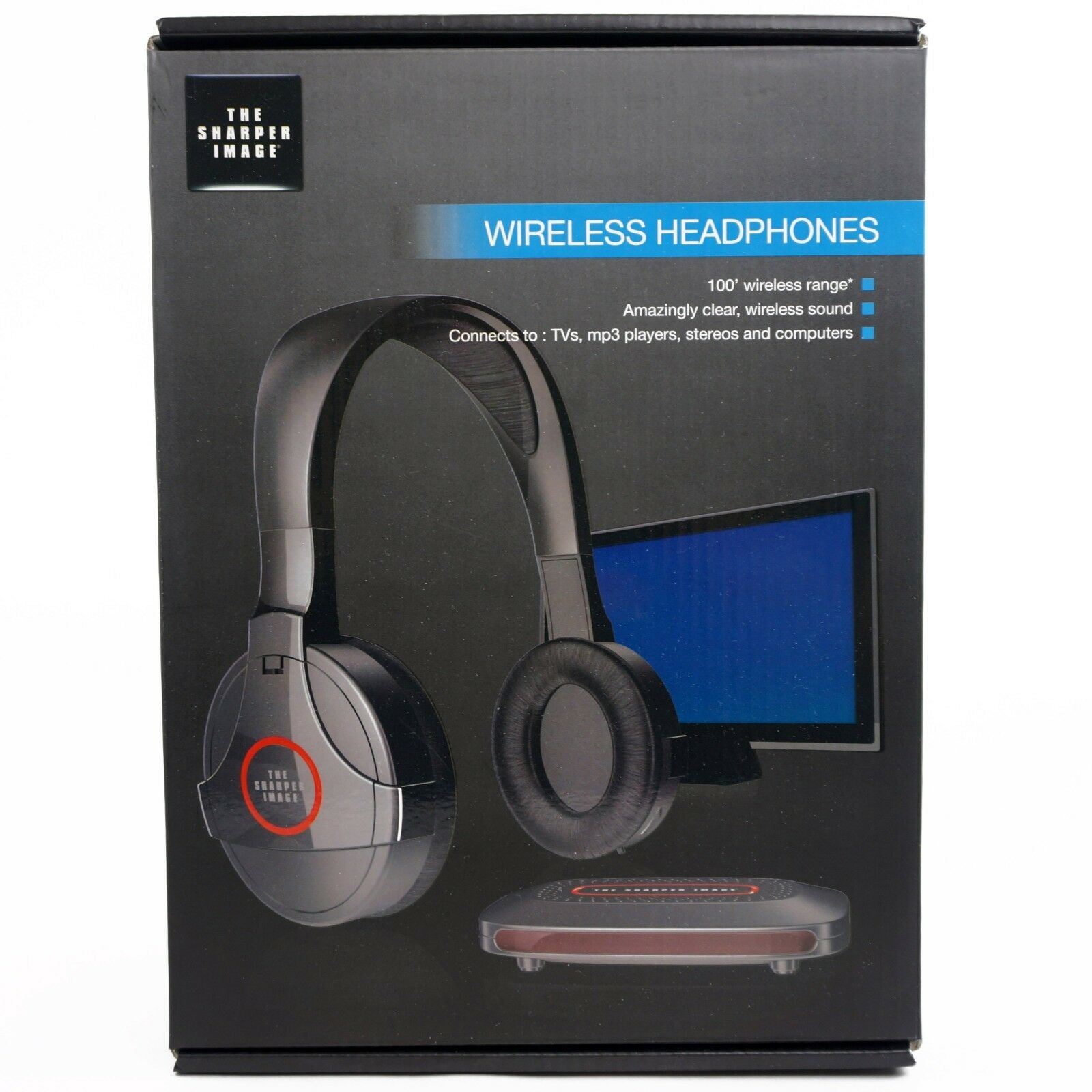 Sharp Wireless Headphone Wireless Headphones Black Ebay