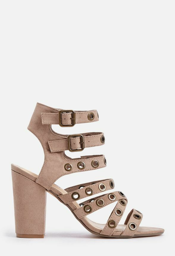Just Fab Elyse shoes in Taupe UK 5.5 EU 38 JS35 30 SALEs
