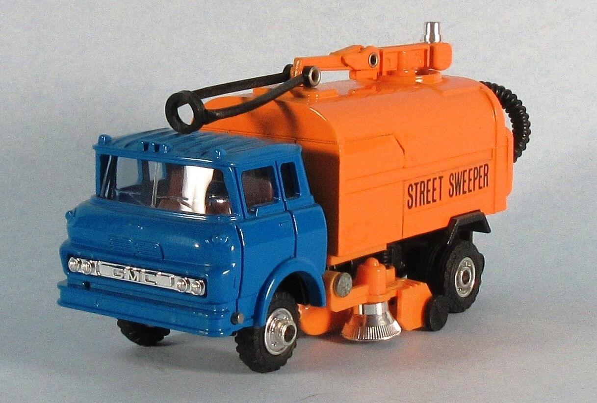 Shinsei GMC barrossoora de calles (blu Cab) 1 60 escala Diecast Modelo Ultra Raro