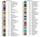 DMC-Modern-Colorful-Cross-Stitch-Embroidery-Pattern-Chart-PDF-14-Count thumbnail 24