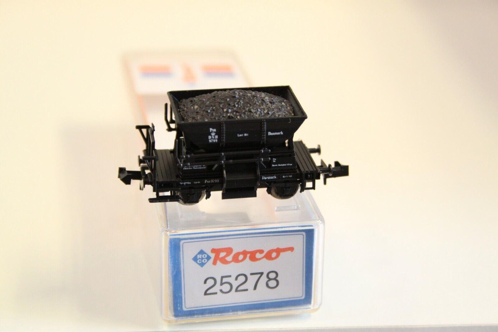 l'ultimo N024 N024 N024    ROCO  Spur N  ammassare autorello  DSB  Danmark  25278  NUOVO  OVP   consegna e reso gratuiti