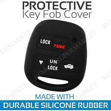2 Key Fob Cover for 2006-2013 Lexus IS250 Remote Case Rubber Skin Jacket