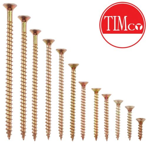 100mm Professional Quality M5 SIZE WOOD SCREWS Pozidriv 3 CHOOSE LENGTH 25mm