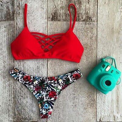 Bikini Sexy Women's Push-up Bandage Swimsuit Swimwear Monokini Bathing Suit