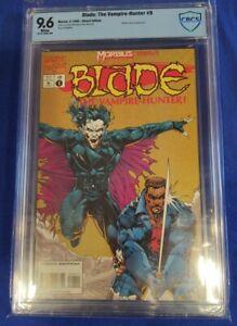 Blade: The Vampire-Hunter #8 Blade Vs Morbius! CBCS 9.6 white pages cgc