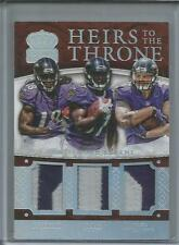 2015 Crown Heirs to the Throne 5/10 Perriman Allen Williams Triple Patch Ravens